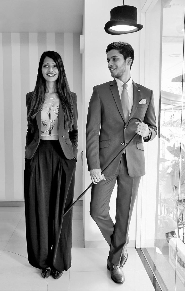 Sarah Sheikh & Sandeep Gonsalves / Founders,  SS Homme