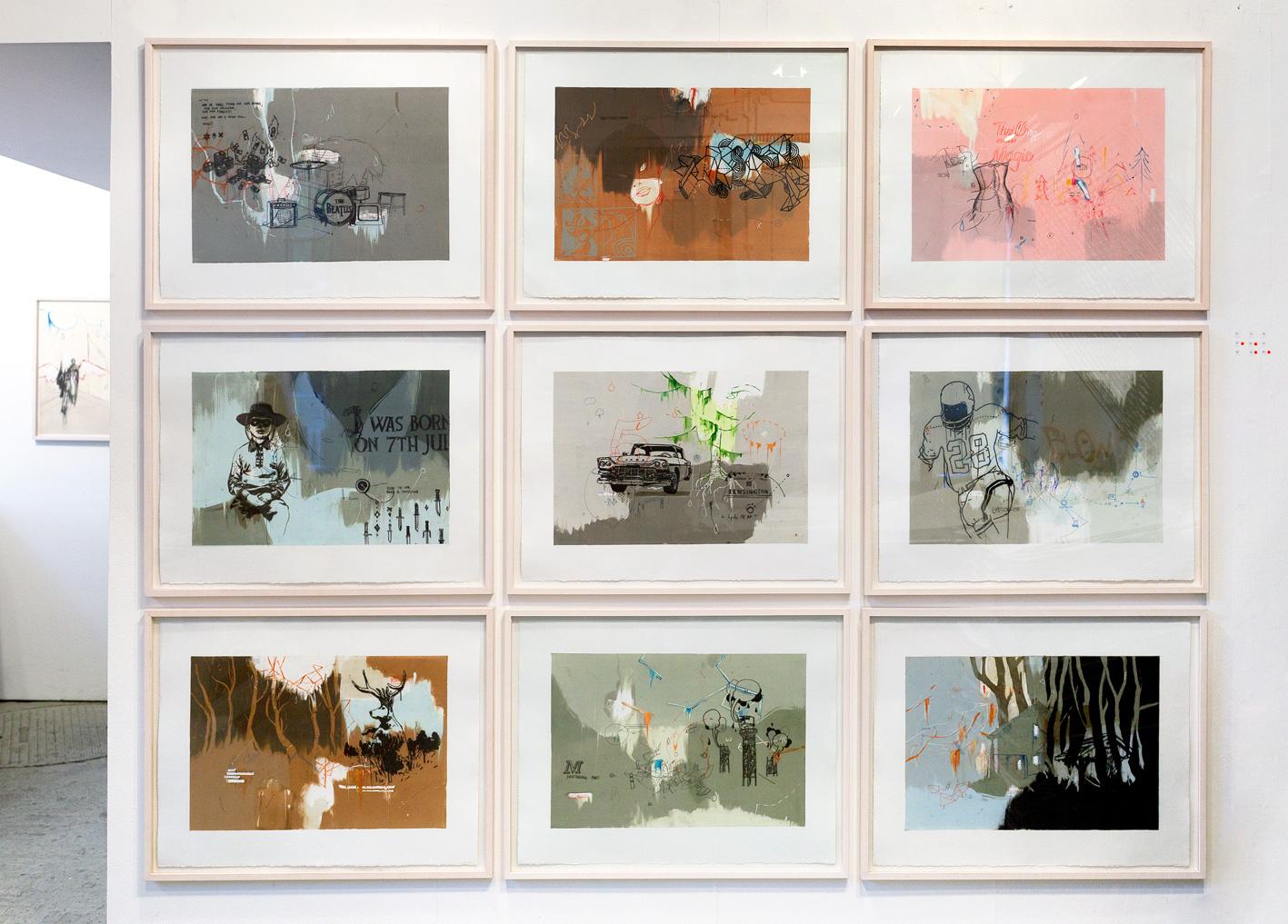 Marcin Kuligowski, Exhibition Front Wall, 2009