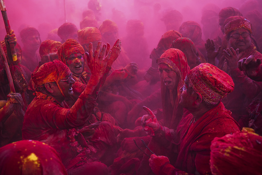 Festival of Colours: Braj Holi