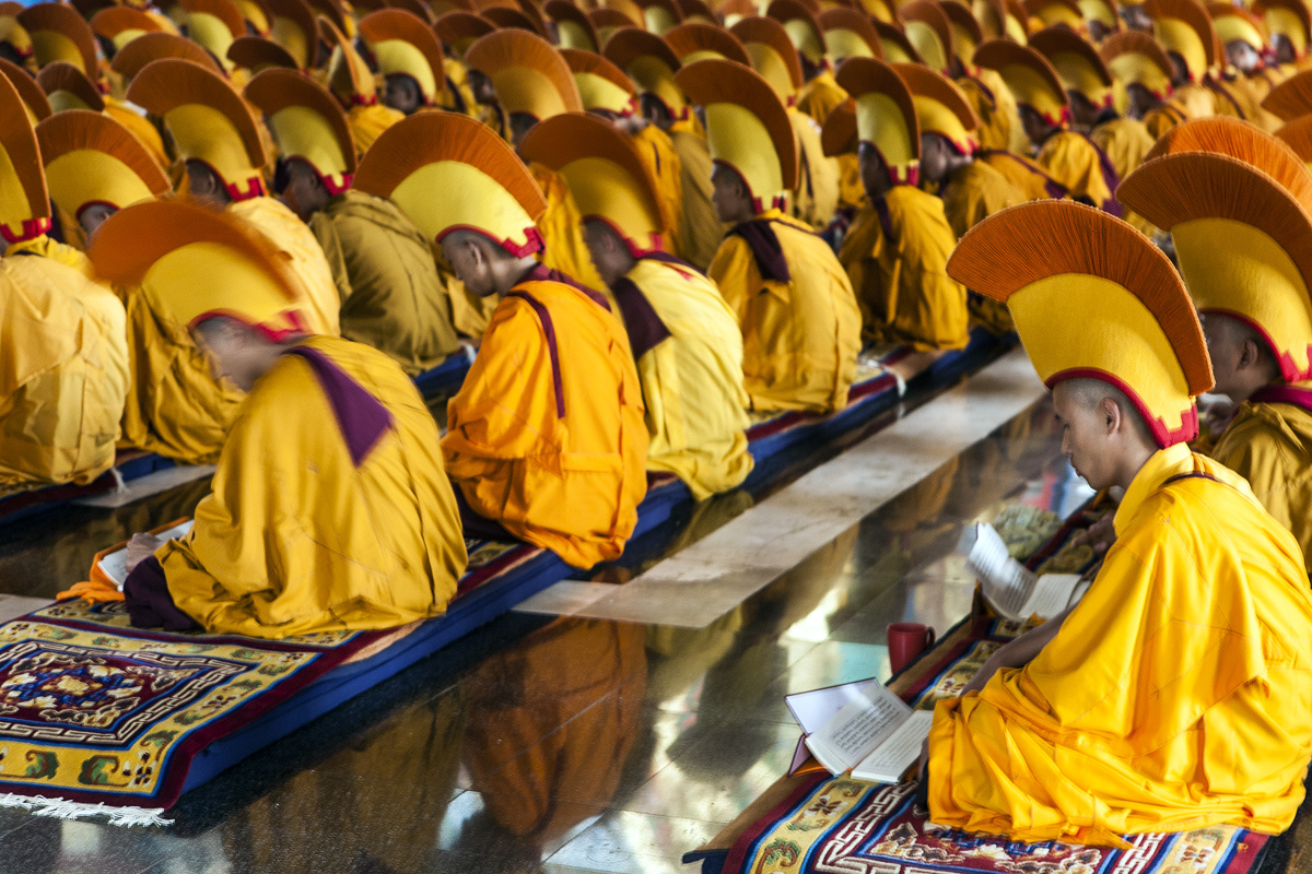 Monks in Chant