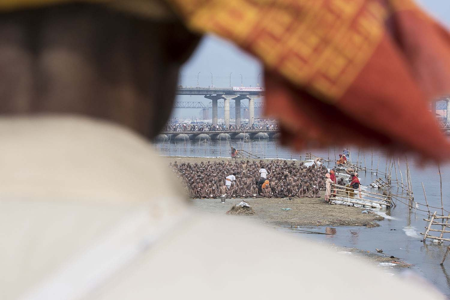 The initiates undertaking 16 generations of Pind-dan, where they renounce material relationships and attachments including attachment to the self on the banks of river Ganges at the Kumbh Mela only. Post this ritual, these 'shishyas' (students) are called 'Avdhoots' (Neither Man or Woman, God Like), and can get themselves worshipped.