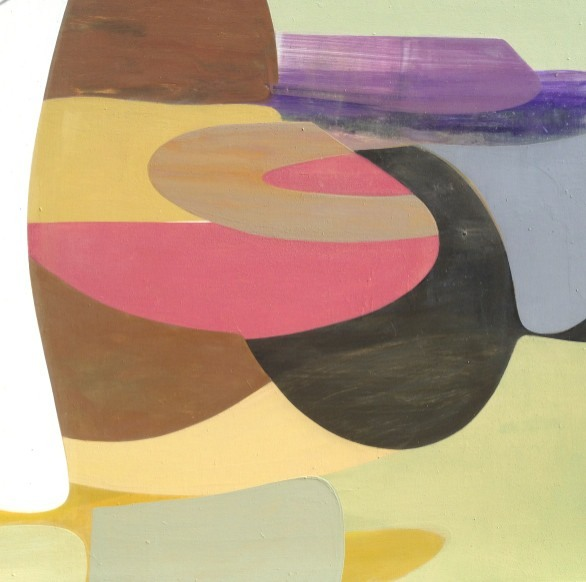 "Victoria Johnson, Terrain Conceptual, 24"" x 24"", Pigmented Resin on Panel, 2013 copyright victoriajohnson"