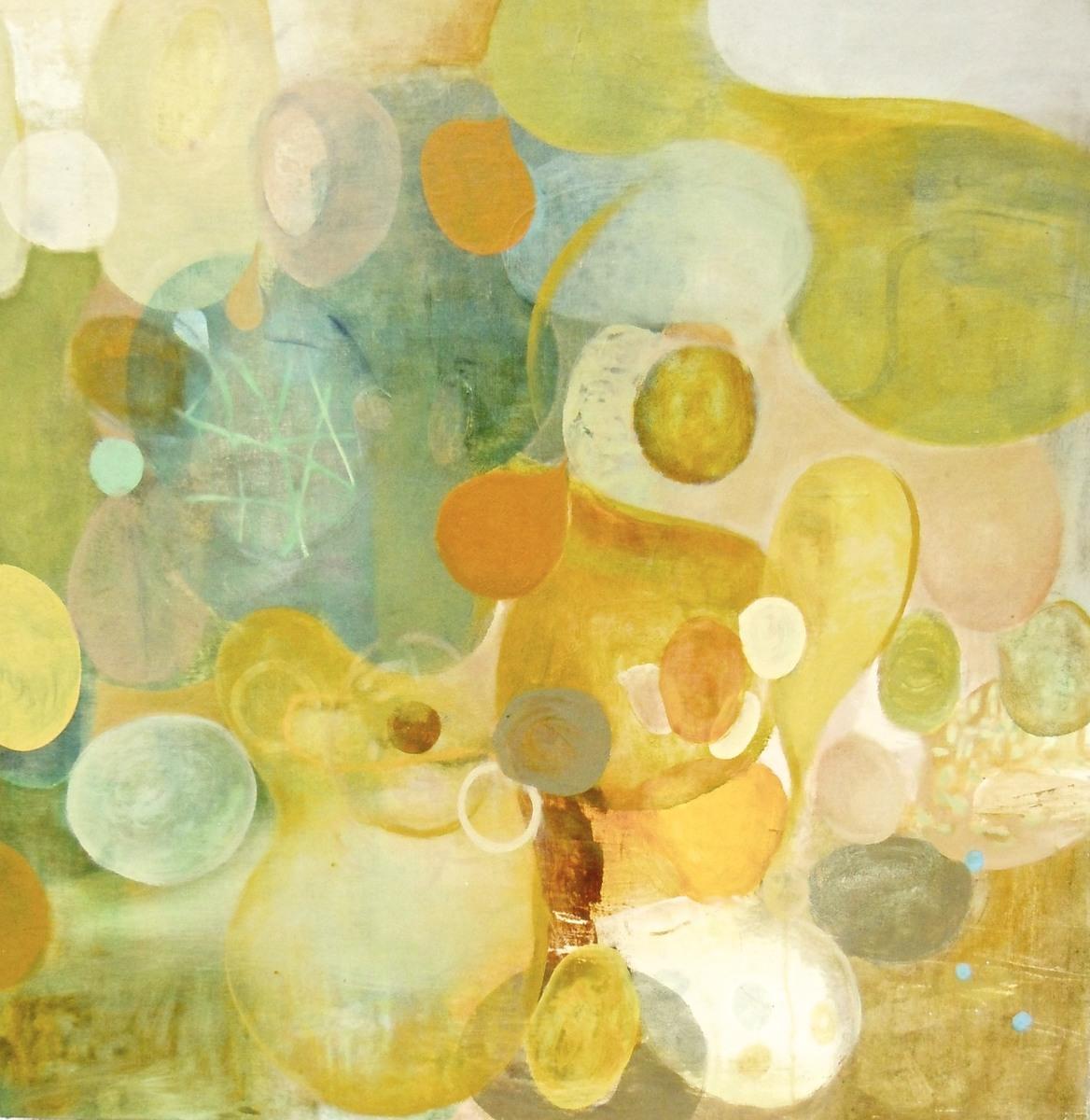 "Nine Heavans, 36"" x 36"", Oil on Canvas on Panel, 2002, copyright victoriajohnson.net"