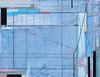 """________ AEGEAN SEA — 14"""" x 18"""" acrylic on canvas"""