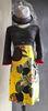 SOPHIE DRESS CHALK/YELLOW 179, LILLIPUT HAT, BurfurtART NECKLACE