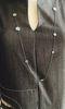 BurfurtART NECKLACE ON SIMPLETON DRESS