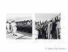 Jawaharlal Nehru waiting in anticipation, and bidding farewell.