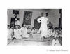 Sardar Patel addresses the All India States People Council Meeting at Dewan Hall, New Delhi Seated are Jawaharlal Nehru and Pattabhi Seetharamaiah