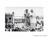 Delhi Muslims being addressed by Shri Rajagopalachari. The last Governor General of India at Jama Masijid.Translating from English to Hindi is Maulana Azad.1947