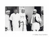 Jawaharlal Nehru, Govind Ballabh Pant and Kamaraj during the AICC meeting at the Constitution Club.1950