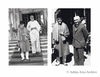 Left: Khan Abdul Ghaffar Khan with Maulana Azad, Shimla. 1945