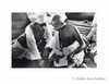 Mahatma Gandhi and Jawaharlal Nehru. Undated