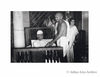 Gandhi ji calling on the ailing leader Madan Mohan Malviya, New Delhi. 1946