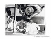 Sardar Patel. Mahatma Gandhi and Sarat Chandra Bose (seated R to L). 1946