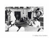 Sardar Patel, Mahatma Gandhi and Sarat Chandra Bose (seated R to L) at the special session of the All India Congress Committee. At the Mike is seen Govind Ballabh Pant .1946