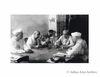 Jawaharlal Nehru, Maulana Azad, Sardar Patel and Rajendra Prasad in deep deliberation . Undated