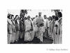 Jayaprakash Narayan  and his wife being received by volunteers at Delhi Political Conference. Undated