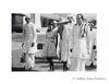 Mahatma Gandhi with Acharya Kripalani.Undated