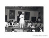 Jawaharlal Nehru addressing a meeting. Undated
