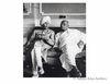 Sardar Patel and the Maharaja of kapurthala at the reception in Motibagh.Patiala. 1948