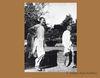 Mahatma Gandhi with Khan Abdul Ghaffar Khan in Peshawar during his visit to NWFP. 1938