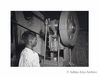 A young worker at a lantern factory somewhere in north  India.1950s