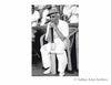 Jawaharlal Nehru waiting for his inning to start.1950s