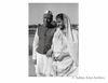 Jawaharlal Nehru and Indira celebrating holi at Rashtrapati Bhavan. 1956