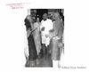 Gandhi being received by Sir Tej Bahadur and Mrs Sapru.Undated