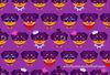 Kawaii Purple Rottweiler Puppy Pattern