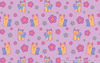Kawaii Yorkies Pattern