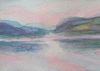 Loch Broom, watercolour on paper, 2014
