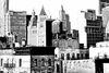 Lower Manhattan in High key