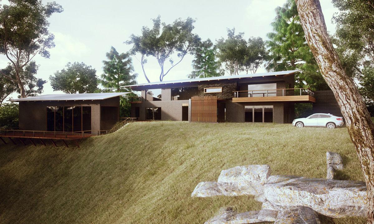 Residence in Mussoorie