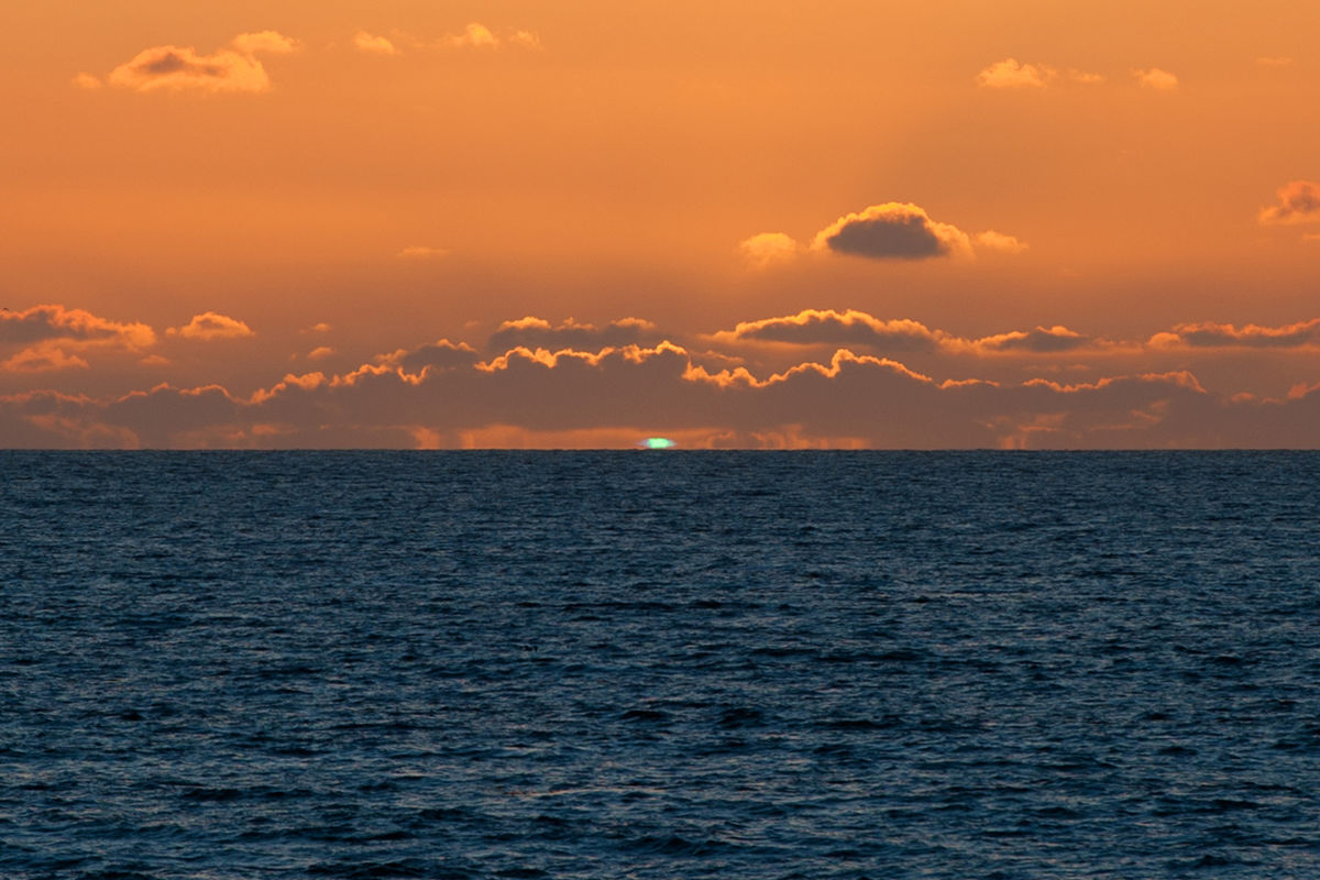 Best Green Flash Sequence Ever!