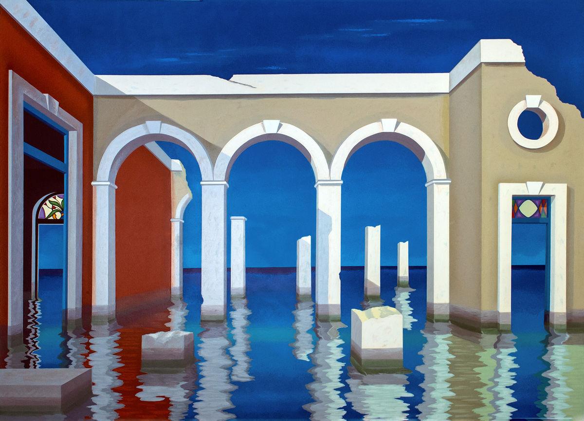 SERIGRAPH---Atlantis Refrain