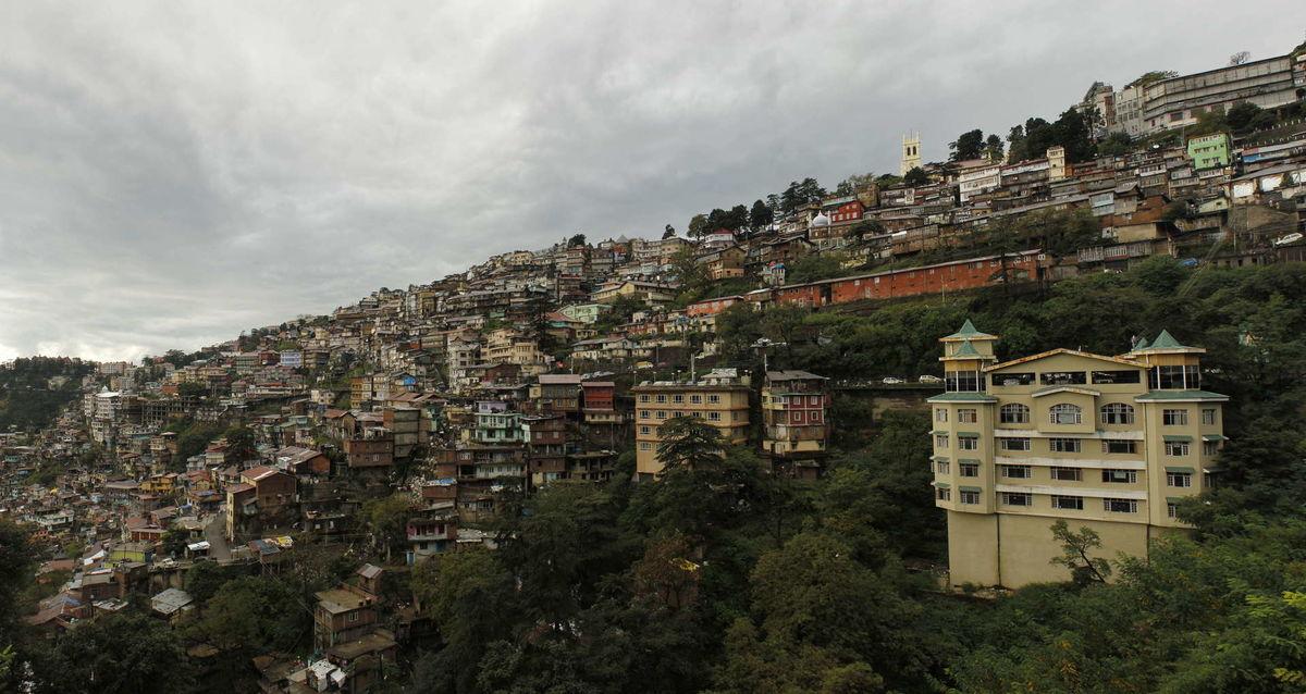 City scape - Shimla, Himachal Pradesh