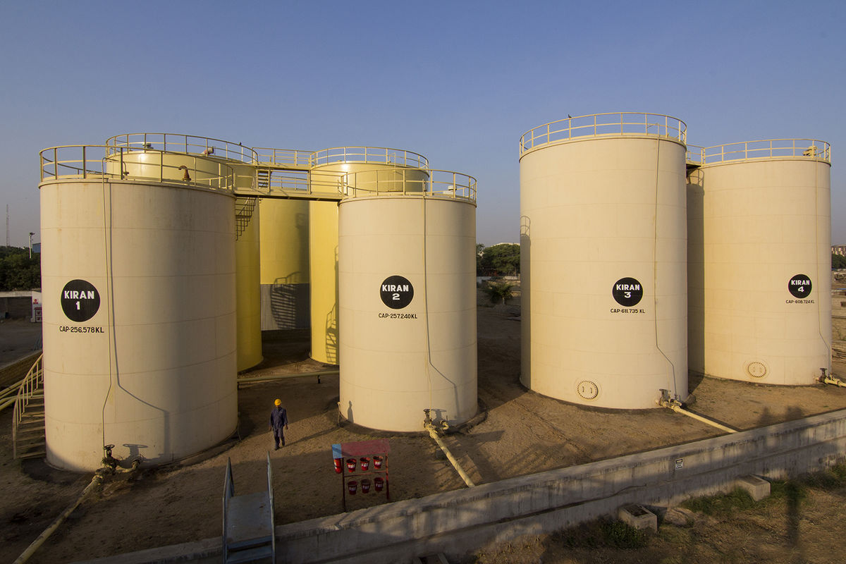 Tank Terminals - Kiran Group of industries, Kandla, Gujarat