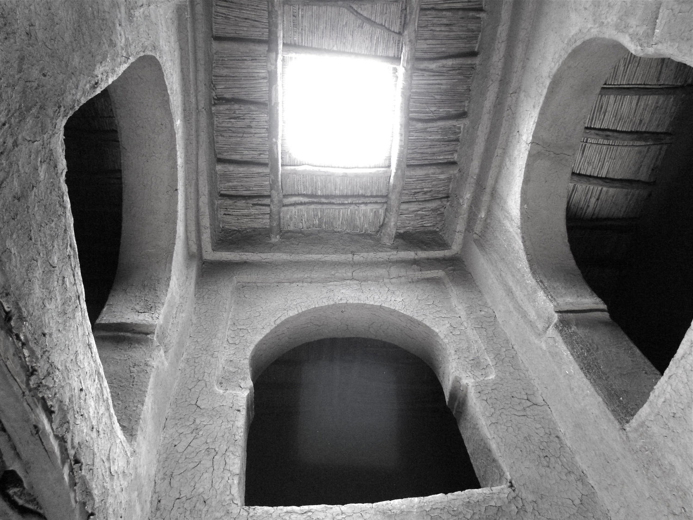 Moroccan adobe hut