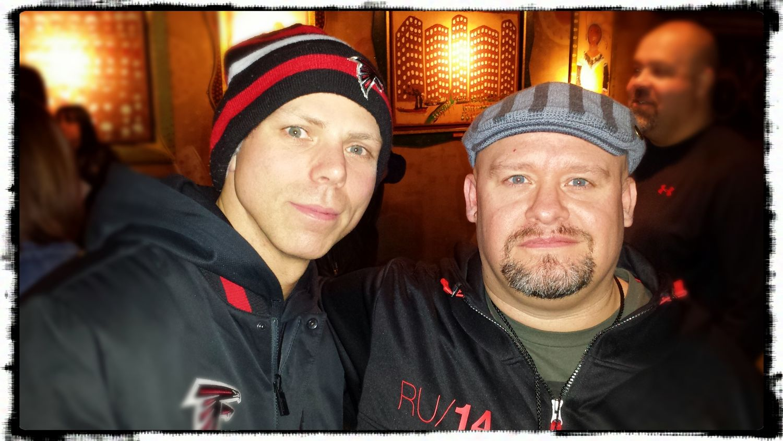 Me and Josh Rand