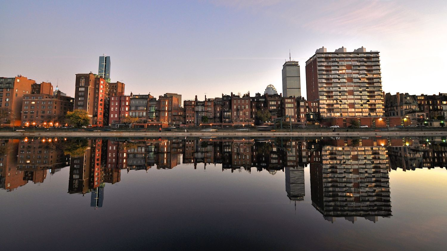 late afternoon reflections (Back Bay)
