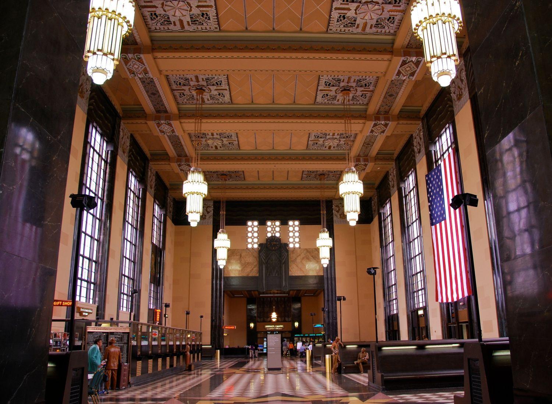Inside Omaha Union Station