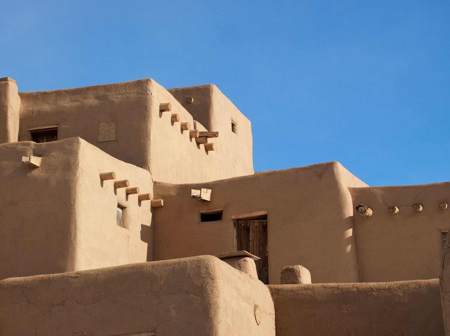 pueblo sun and shapes