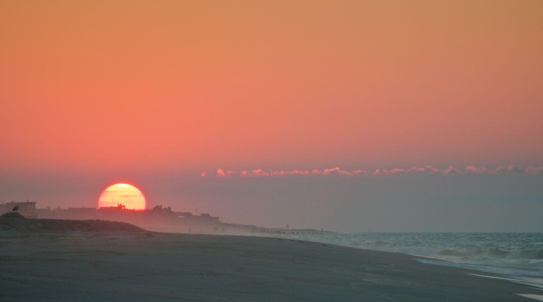 Jupiter Rising (wait, that's the sun!)