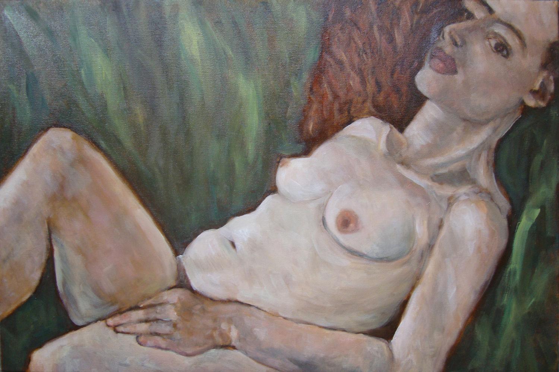 Chiara. Oil on canvas, 2011