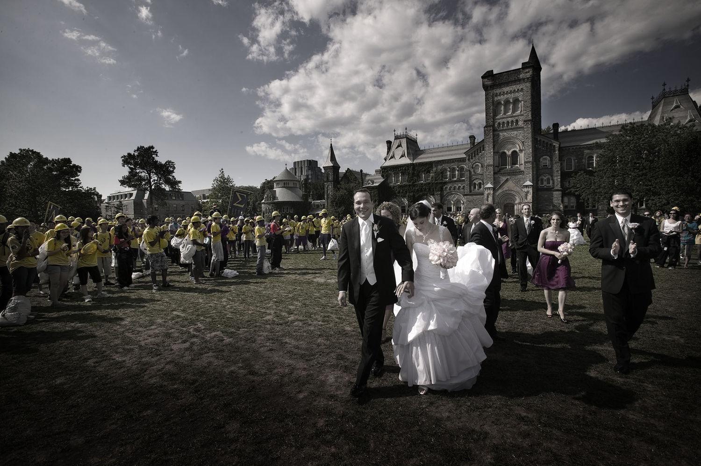 Wedding couple, U of T
