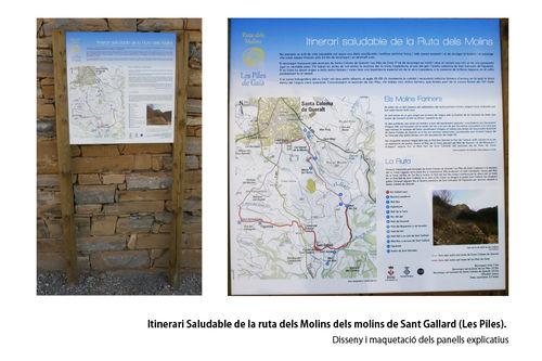 Itinerari Saludable de la ruta dels Molins de Sant Gallard (Les Piles)