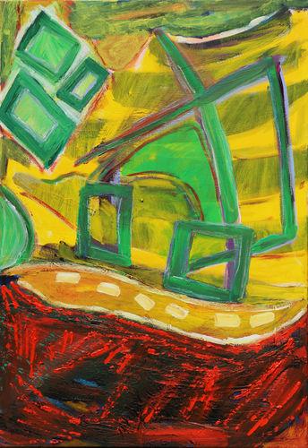 Grün Gelb Rot