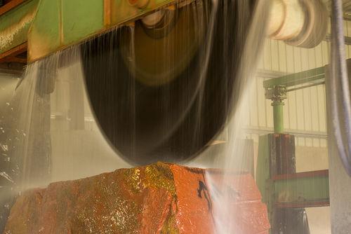 Granite processing plant, Jaisalmer