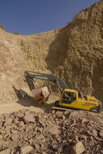 Granite quarry, Jaisalmer